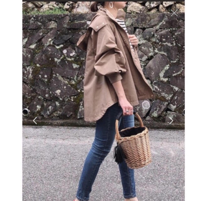IENA(イエナ)のEmmaTaylor【stylebar】ミリタリーフードブルゾン レディースのジャケット/アウター(ミリタリージャケット)の商品写真