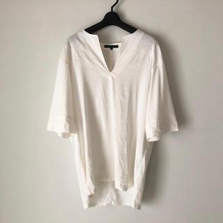 セオリー(theory)のTheory 刺繍チュニックシャツ リネンブラウス(シャツ/ブラウス(長袖/七分))