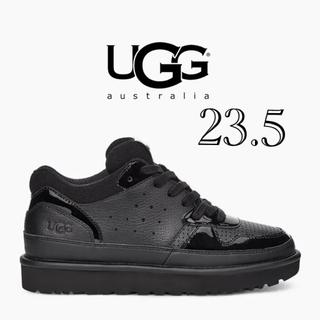 アグ(UGG)の新品未使用 UGG スニーカー ブラック 23.5(スニーカー)