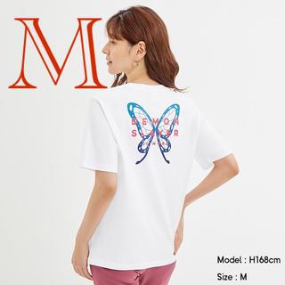 GU - 鬼滅の刃 Tシャツ GU コラボ 胡蝶 しのぶ カナヲ 胡蝶しのぶ M