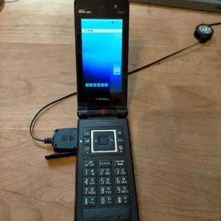 エーユー(au)のau ガラケー e10k for business(携帯電話本体)