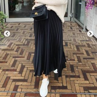 ZARA - ZARA プリーツスカート ロングスカート