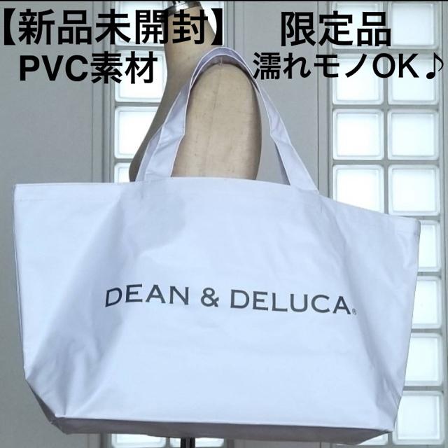 DEAN & DELUCA(ディーンアンドデルーカ)の未開封 限定品 ディーンアンドデルーカ エコバッグ ビッグトートバッグ レディースのバッグ(トートバッグ)の商品写真