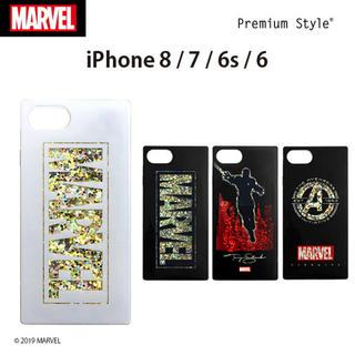 マーベル(MARVEL)のMARVEL マーベル iPhone ケース カバー 8 7 6 6s キラキラ(iPhoneケース)