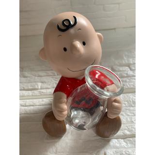 SNOOPY - ☆美品☆ピーナッツ スヌーピー チャーリーブラウン花瓶 陶器
