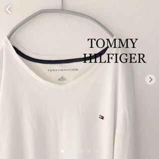 トミーヒルフィガー(TOMMY HILFIGER)のトミーヒルフィガー  長袖カットソー  ロンT TOMMY  HILFIGER(Tシャツ/カットソー(七分/長袖))