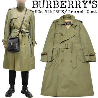 BURBERRY - ★希少★BURBERRY★バーバリー★90s★玉虫 トレンチコート★ノバチェック