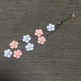 アンクルージュ(Ank Rouge)のアンクルージュ腕輪フラワーモチーフお花ブレスレット(ブレスレット/バングル)