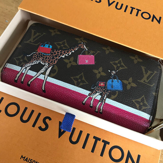 LOUIS VUITTON - ルイヴィトン  ジッピーウォレット長財布 きりんキリン限定♡