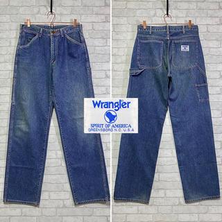 ラングラー(Wrangler)の【Wrangler】ラングラージャパン ペインターパンツ ダンガリーズ/W32(ペインターパンツ)