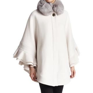 DOUBLE STANDARD CLOTHING - sov. フォックスファーポンチョ
