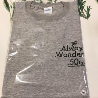鴨川シーワールド 50周年記念グッズ Tシャツ Mサイズ  ミックスグレー
