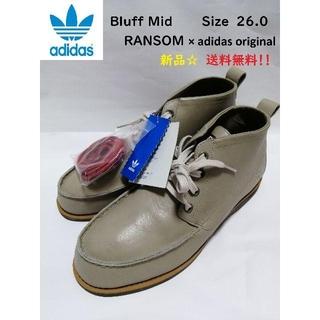 アディダス(adidas)のBluffMid RANSOM × adidas original コラボブーツ(ブーツ)