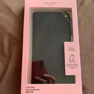 ケイトスペードニューヨーク(kate spade new york)の新品ケイトスペードiPhoneケース手帳型 XS MAX(iPhoneケース)