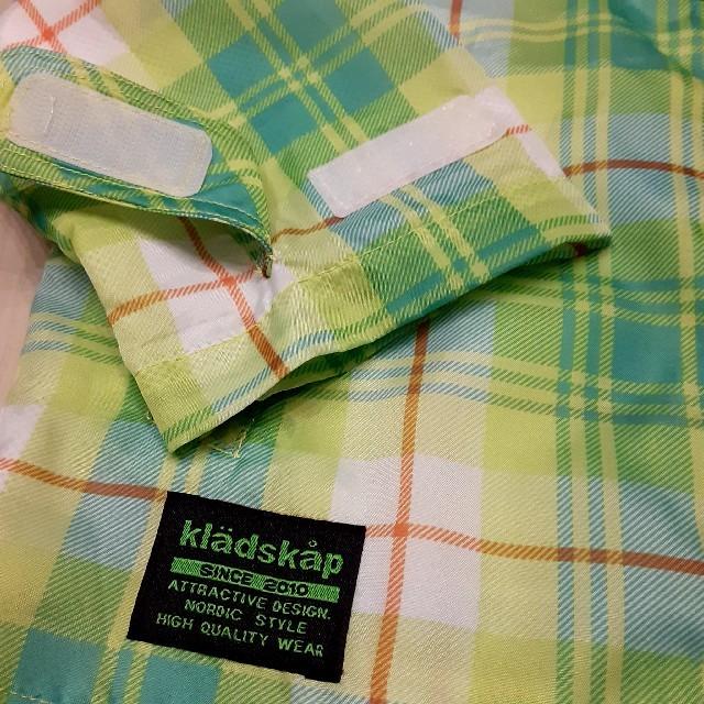 kladskap(クレードスコープ)のkladskap キッズ ウインドブレーカー 黄緑色 100 キッズ/ベビー/マタニティのキッズ服男の子用(90cm~)(ジャケット/上着)の商品写真