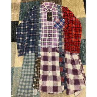 Needles - ニードルス 再構築ロングチェックシャツ