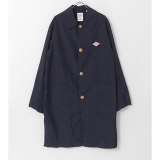 ダントン(DANTON)のましお様専用 ダントン コート ネイビー 新品 タグ付き 40(ステンカラーコート)