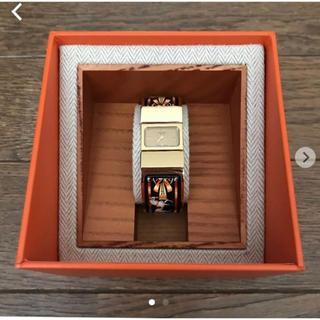 Hermes - エルメス 七宝焼 腕時計
