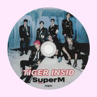 シャイニー(SHINee)のSuperM💙 TIGER INSID PV&TV(ミュージック)