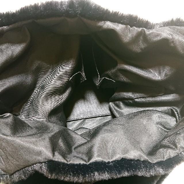 GU(ジーユー)のGUフェイクファーバッグ レディースのバッグ(トートバッグ)の商品写真