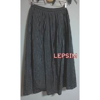 レプシィム(LEPSIM)のLEPSIMストライプロングスカート(ロングスカート)