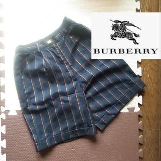BURBERRY - BURBERRY バーバリー ハーフパンツ ストライプ 150
