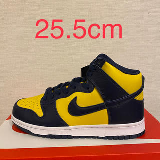 NIKE - ダンク ハイ dunk high 25.5cm NIKE MICHIGAN