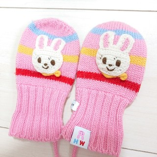ミキハウス(mikihouse)のMIKI HOUSE 赤ちゃん手袋 S(手袋)