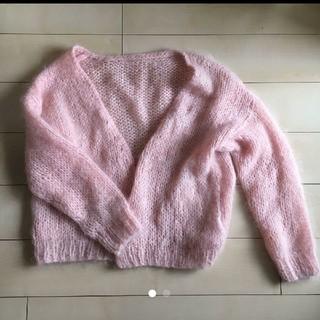 Lochie - モヘアカーディガン ピンク