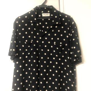 サンローラン(Saint Laurent)のSAINTLAURENT サンローランパリ ドットシャツ(シャツ)