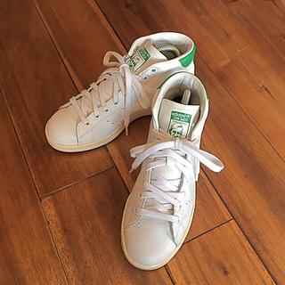 アディダス(adidas)のアディダス スタンスミス ミッドカット 23.5(スニーカー)