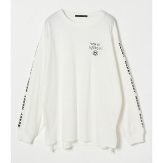 ヘザー(heather)の【Heather】NERDY×Heather BIGロンT(ホワイト)(Tシャツ(長袖/七分))