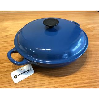 ルクルーゼ(LE CREUSET)の【新品】Le Creuset ビュッフェ キャセロール 青(食器)