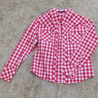 lovetoxic - Lovetoxic 赤チェックシャツ
