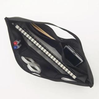 ムジルシリョウヒン(MUJI (無印良品))の無印良品 ナイロンメッシュ バッグインバッグ B5サイズ用(ポーチ)
