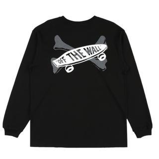 ダブルタップス(W)taps)のMサイズVANS VAULT X WTAPS ロンTシャツ BLACK(Tシャツ/カットソー(七分/長袖))