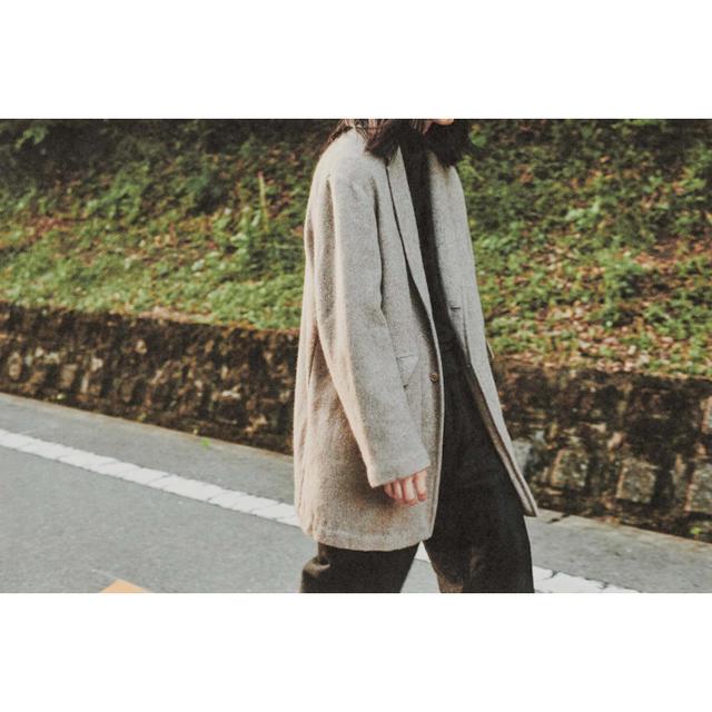 COMOLI(コモリ)のCOMOLI 20AW新作 カシミヤチェスターコート ベージュ サイズ3 新品 メンズのジャケット/アウター(チェスターコート)の商品写真