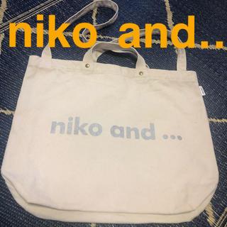 ニコアンド(niko and...)のコメントで1,100円❗️niko  and トートバック(トートバッグ)
