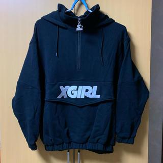 エックスガール(X-girl)の【XGIRL×STARTER】SWEAT PULLOVER(パーカー)(パーカー)