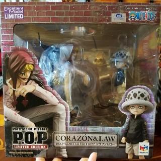 MegaHouse - ワンピース P.O.P LIMITED EDITION コラソン&ロー  POP