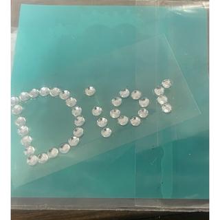 クリスチャンディオール(Christian Dior)の激安■ネイルパーツ■レアディオールロゴラインストーンパールチェーン(デコパーツ)