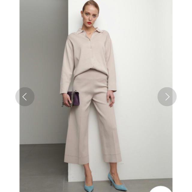 Mila Owen(ミラオーウェン)のミラ オーウェン♡美品ニットシャツセットアップ レディースのレディース その他(セット/コーデ)の商品写真