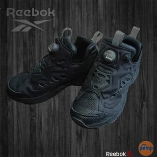 Reebok - 美品 Reebok インスタポンプフューリー ブラック紺 23cm スニーカー
