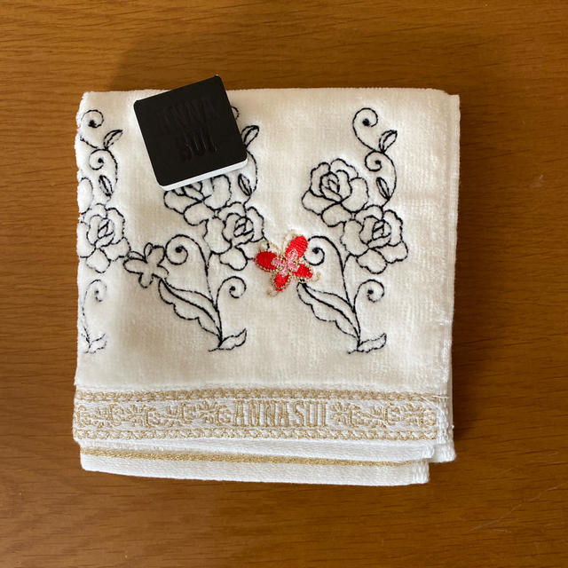ANNA SUI(アナスイ)のアナスイ タオルハンカチ レディースのファッション小物(ハンカチ)の商品写真