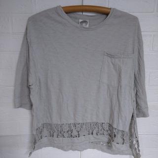 スカラー(ScoLar)のスカラー  半袖Tシャツ   レディースM、F(中古品)(Tシャツ(半袖/袖なし))