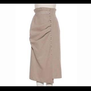 snidel - スナイデル ドレープデザインタイトスカート