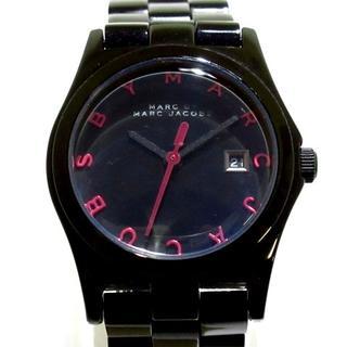 マークバイマークジェイコブス(MARC BY MARC JACOBS)のマークジェイコブス 腕時計 MBM8564 黒(腕時計)