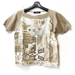 レオナール(LEONARD)のレオナール 半袖セーター サイズLL -(ニット/セーター)