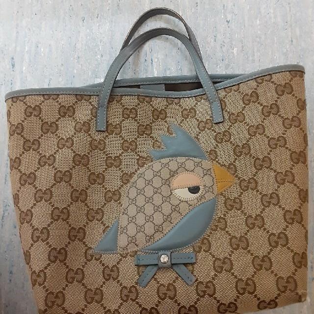 Gucci(グッチ)のグッチチルドレンバッグ、10月3日まで最終値下げ レディースのバッグ(トートバッグ)の商品写真