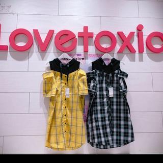 lovetoxic - ラブトキ シャツワンピ